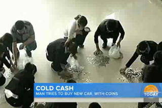 Chinese Man Tries to Buy Car with $16,000 in Coins [Video]