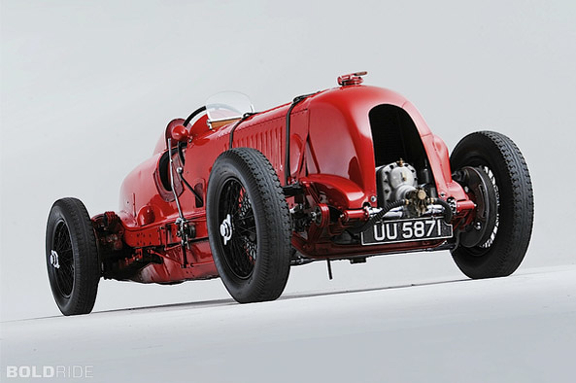 Bold School: 1929 Bentley 4.5 litre Supercharged Racing Single-Seater