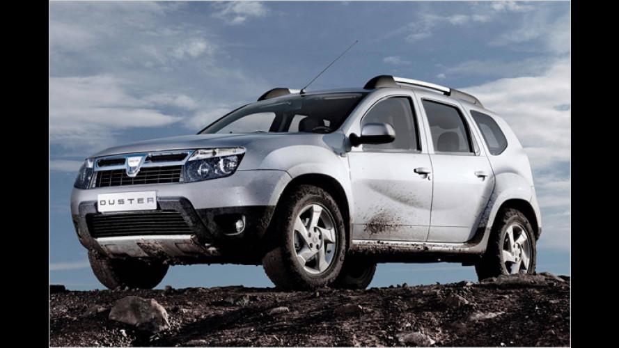 Das SUV ist da: Dacia Duster steht auf dem Genfer Salon