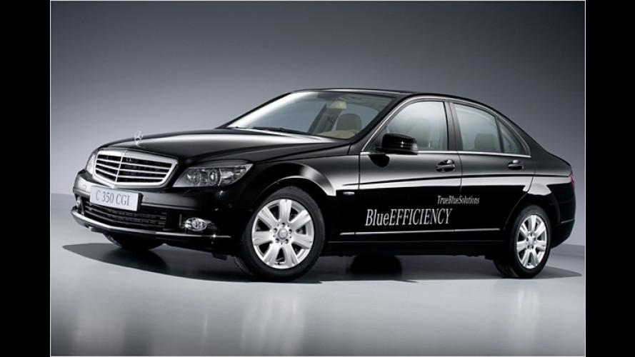 BlueEFFICIENCY: Mercedes bringt drei Spar-Modelle