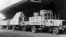 From 1914, subsidized trucks triggered a boom