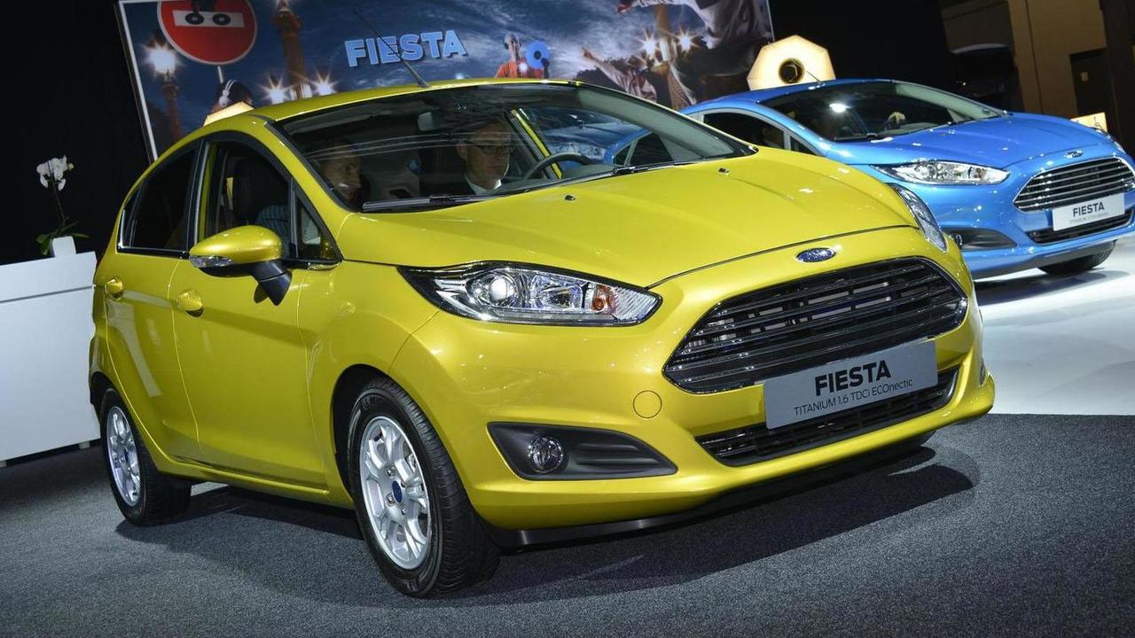2013 Ford Fiesta live Paris 28.9.2012