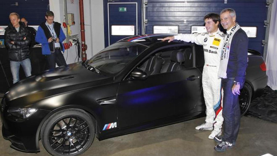 BMW M3 DTM Champion Edition revealed