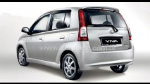 Novo VIVA da Malásia começa a ser produzido pela Perodua - Conheça o visual