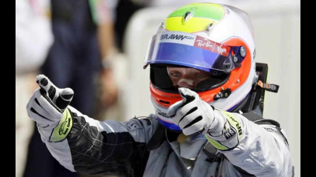Fórmula 1 - Barrichello vence o GP da Europa em corrida perfeita e volta a brigar pelo título