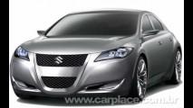 Novo sedan médio Suzuki Kizashi será lançado em 2010 e pode vir ao Brasil
