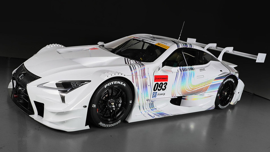 Sharp-edged 2017 Lexus LC500 ready to race in Japan