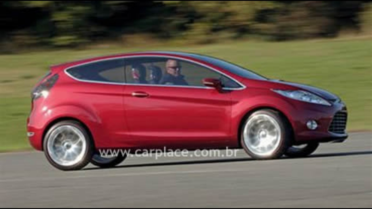 Novo Ford Fiesta - Montadora manterá o nome Fiesta para a nova geração
