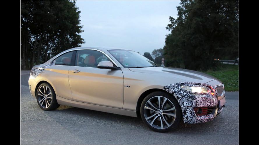 Erwischt: So schick wird das BMW 2er Coupé