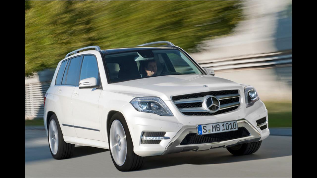 Top: Mercedes GLK, Baujahr 2012, 64 Standtage