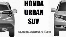 Honda Urban SUV production version patent photo 07.11.2013