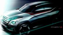 Mitsubishi GC-PHEV concept teaser photo 08.10.2013