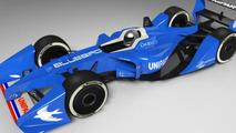 Bluebird GTL Formula E race car 08.7.2013
