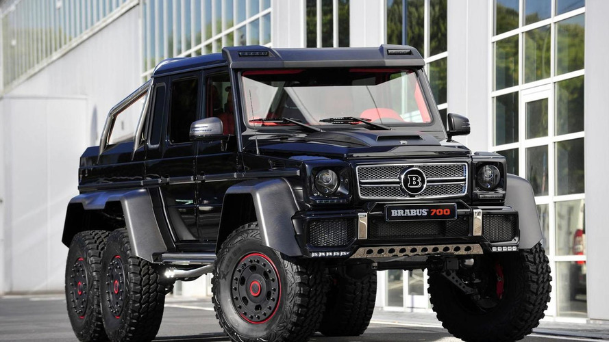 Brabus B63S announced - based on the Mercedes G63 AMG 6x6