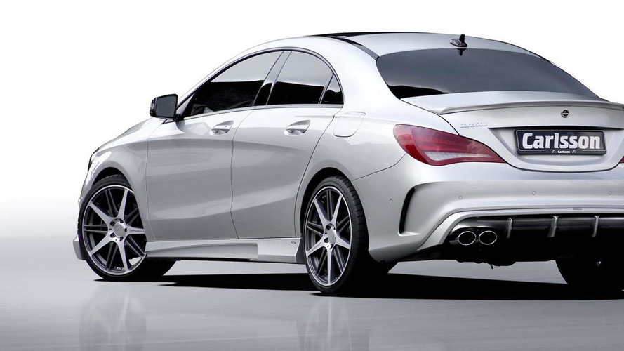 Carlsson tunes the Mercedes CLA-Class for Frankfurt