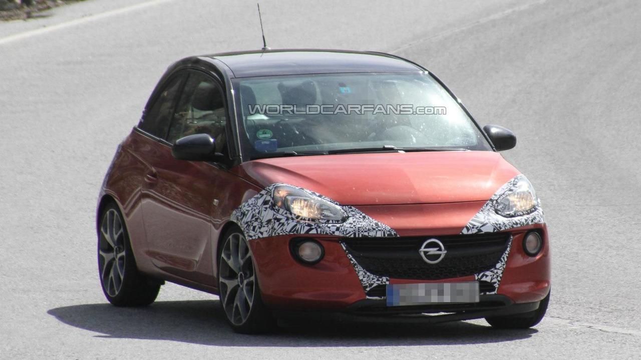 2014 Opel Adam 1.0-liter SIDI Turbo spy photo 15.08.2013