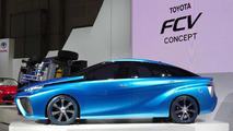 Toyota FCV concept at Tokyo Motor Show