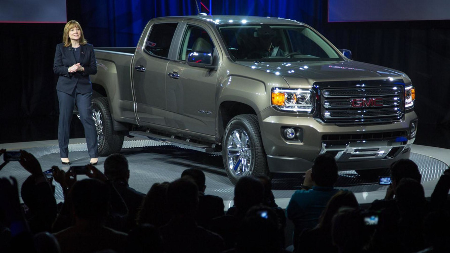 2015 GMC Canyon bows in the Motor City