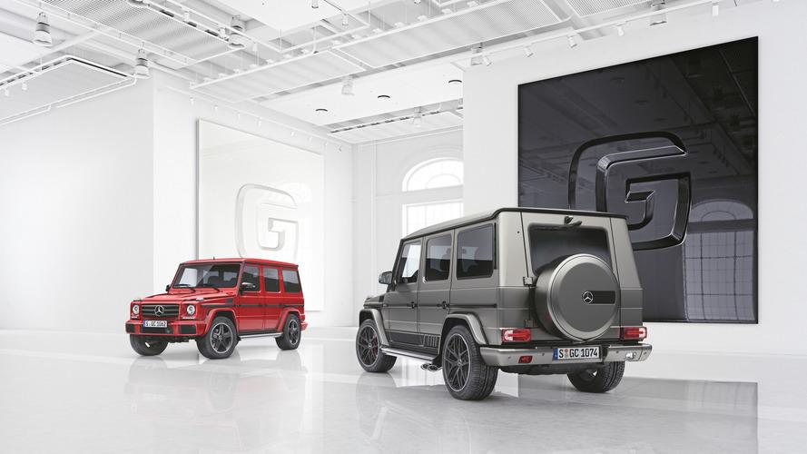 Nuevas ediciones especiales del Mercedes Clase G
