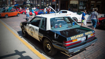 1986 Ford Mustang Police Car