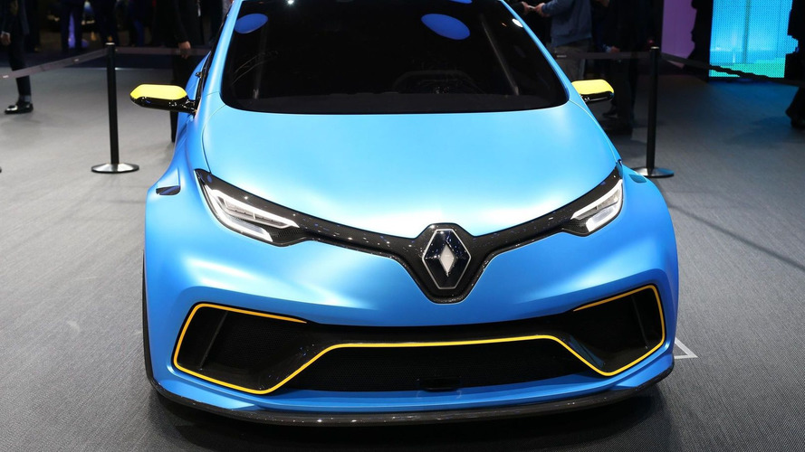 Renault Zoe E-Sport Concept is an electric 460-hp pocket rocket