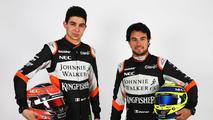 Esteban Ocon et Sergio Perez