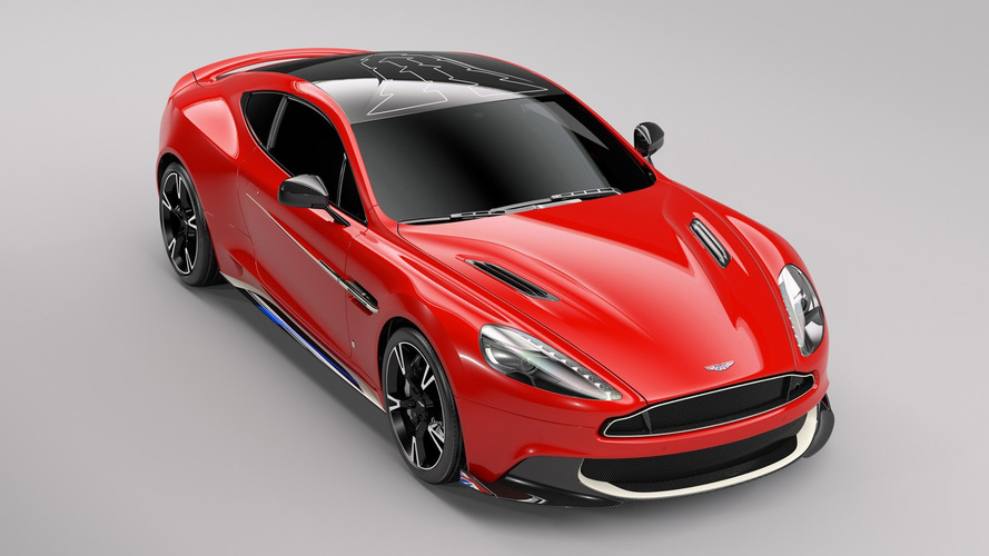 Aston Martin Vanquish S Red Arrows Honours British Royal Air Force