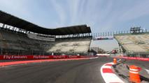Autodromo Hermanos Rodriguez track atmosphere