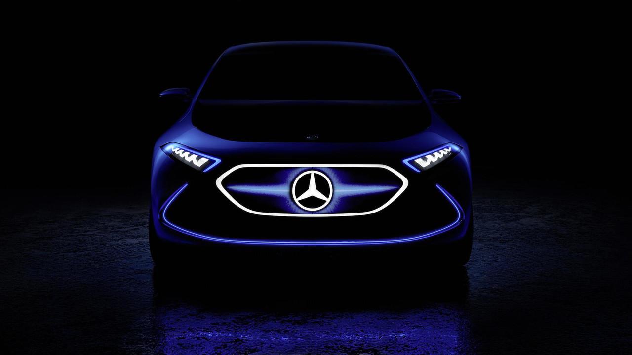 Mercedes-Benz EQ A Teaser