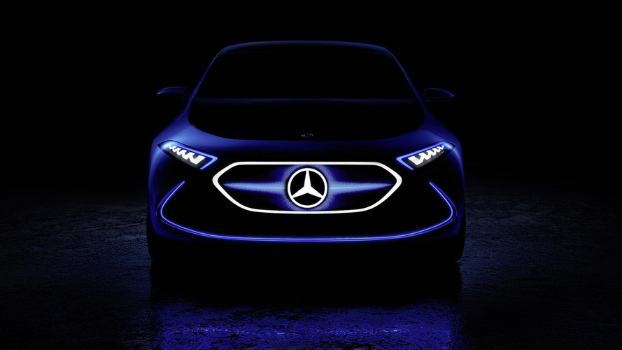 Tune in, Frankfurt: Mercedes-Benz's EQ A electric vehicle concept teased