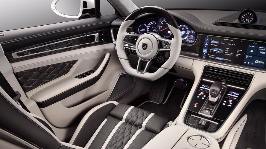 Porsche Panamera - Un somptueux intérieur par TopCar