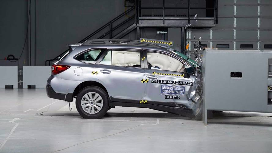 New IIHS Test Looks Out For Passengers In Small Overlap Crash