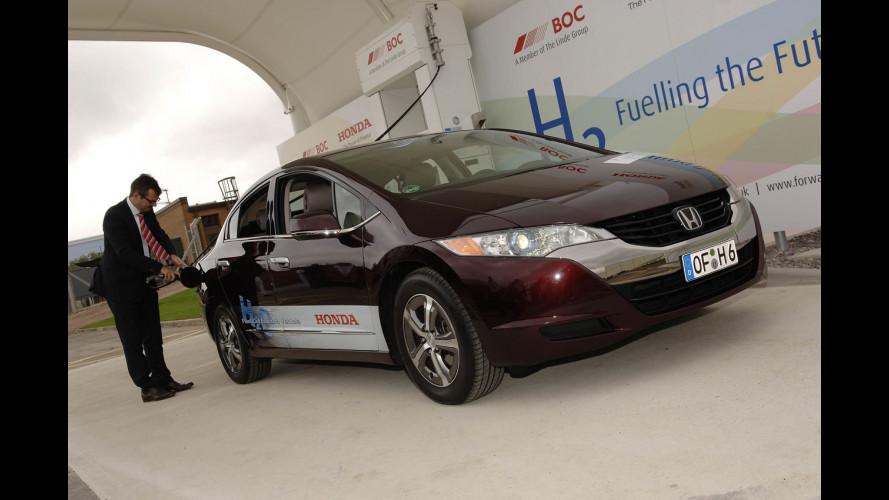 Honda apre in UK il primo distributore di idrogeno