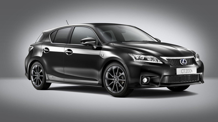 2012 Lexus CT 200h F-Sport announced for U.K.