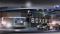 Subaru booth design for Tokyo Auto Salon 2012 27.12.2011