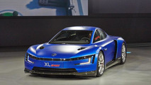 Volkswagen XL Sport concept at 2014 Paris Motor Show