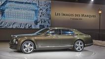 Bentley Mulsanne Speed live at Volkswagen's Paris Motor Show preview evening