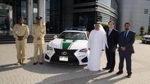 Dubai police Lexus RC F