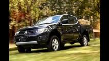 Mitsubishi L200 Triton ganha novas versões na linha 2012 - Preços partem de R$ 86.900