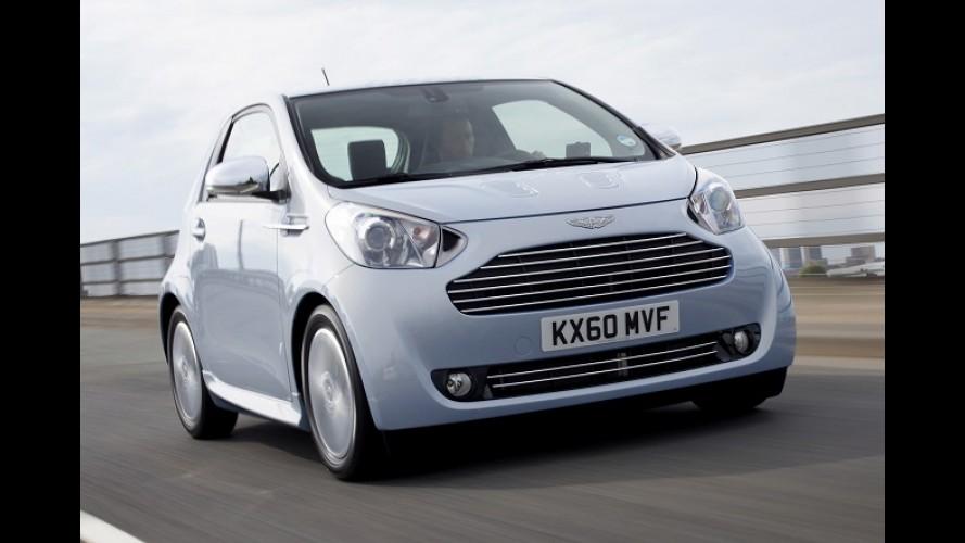 Toyota iQ de grife, Aston Martin Cygnet deixa de ser produzido