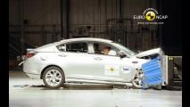 Mais seguros: Veículos chineses recebem quatro estrelas nos testes da EuroNCAP