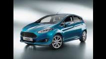Ford antecipa primeiras fotos oficiais do Novo Fiesta 2014 - Modelo será nacional no ano que vem