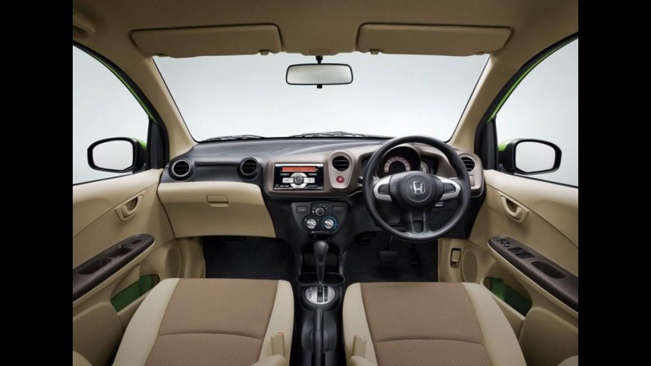 Honda Brio automático será lançado na Índia este mês