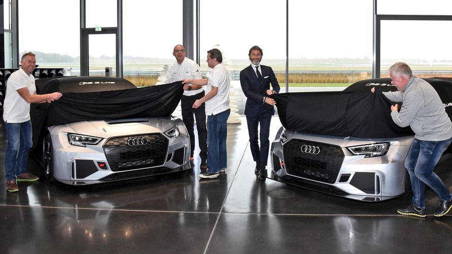 You can now get Audi's RS3 race car that's slower than the street car