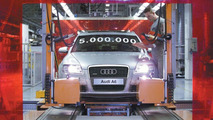 Five millionth Audi A6 leaves production line