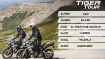 Triumph España Tiger Tour 2017