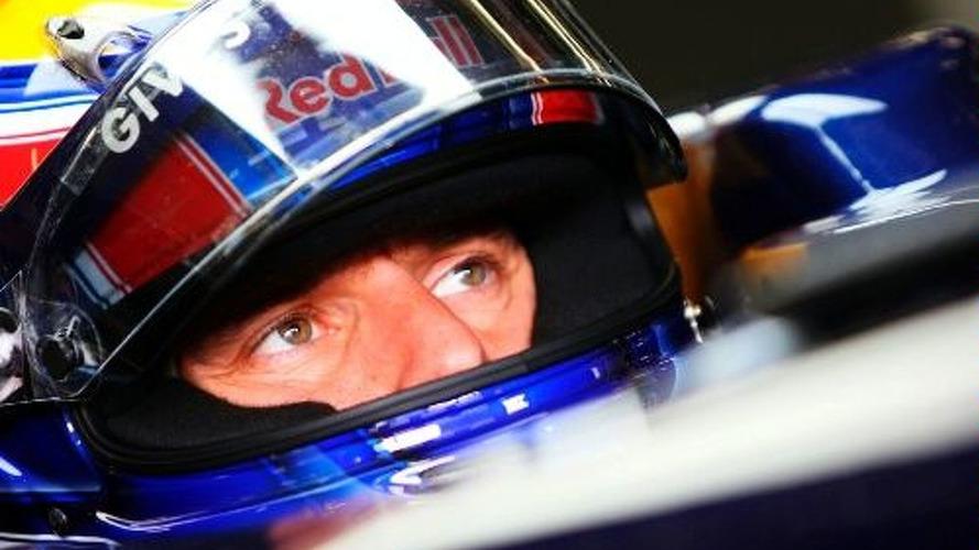 Red Bull confirms Webber for 2010