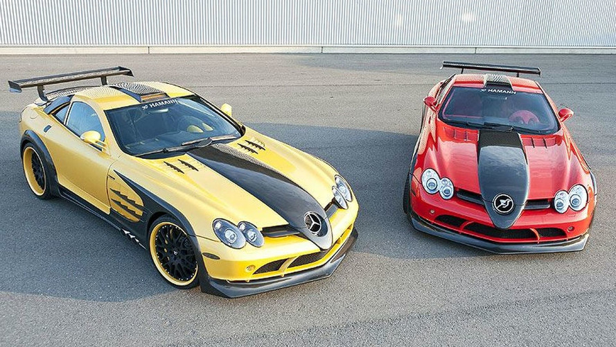 Hamann Volcano Red & Yellow Editions Eye Candy