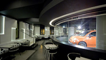 Fiats and Jeeps share showroom in Paris for first time