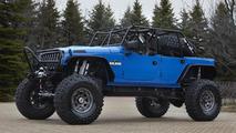 Jeep Wrangler Blue Crush - 8.4.2011